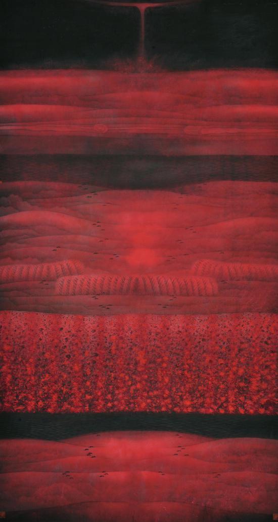 卢禹舜作品《静观八荒系列15》142x267cm