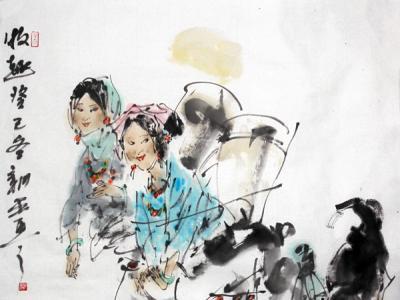 驭线造形 生动传神——浅谈徐新平先生人物绘画的审美取向