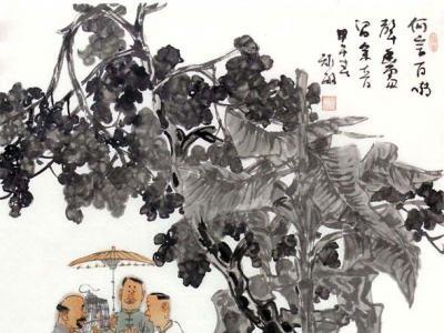 小桥流水 老树百灵——周矩敏人物画中的诗意栖息与文化