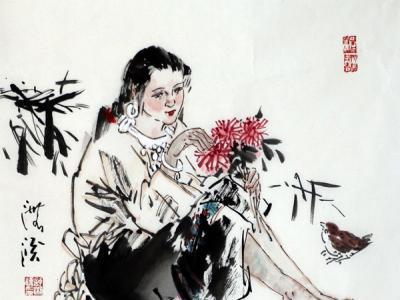 成功书画网(微)拍第九十四期拍卖——舒湘汉人物