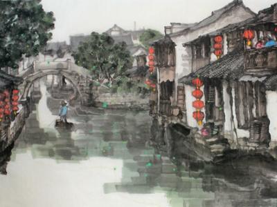 曹舒天画作上拍成功书画网(微)拍第九十四期拍卖