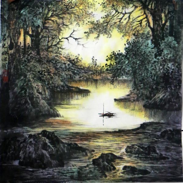 天光乍现 源头活水――浅谈王焕波先生的山水画创作