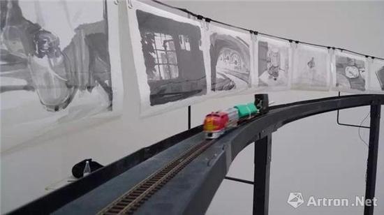 《看见的和看不见的,知道的和不知道的》(2007),陈劭雄,装置,图片来源于于艺术家官网