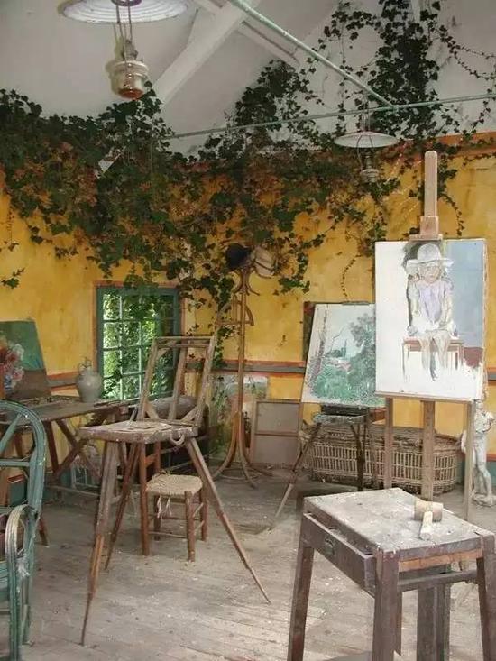 莫奈的画室