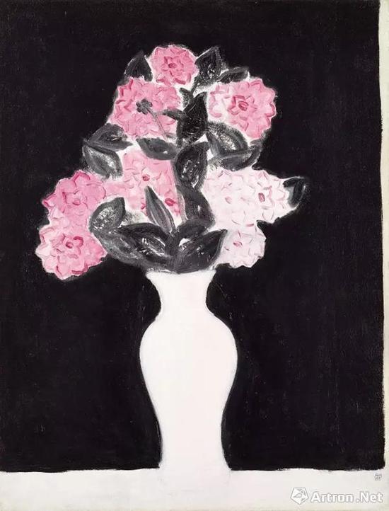 《白瓶花卉》 成交价:6604.6万元