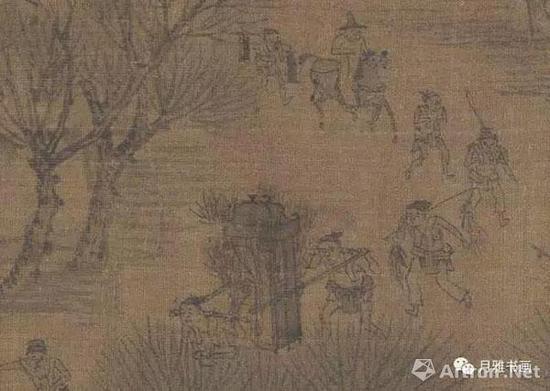 宋本《清明上河图》:踏青(图3)