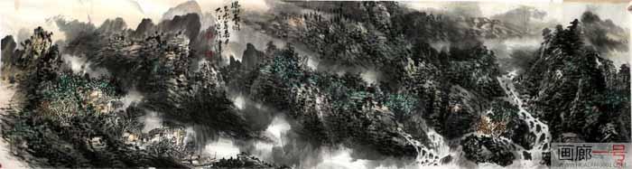吕大江山水作品入选沐盛世春风 赏时代丹青——戊戌成功美术馆馆藏作品春季线上联展
