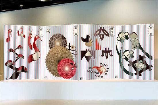 21世纪Rimpa海报大赛参展作品,2015 。图片来自银座图形画廊