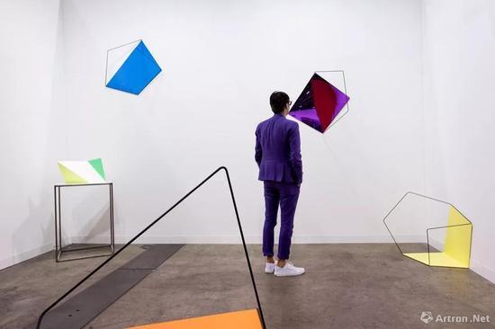 ▲2017年香港巴塞尔艺术展现场