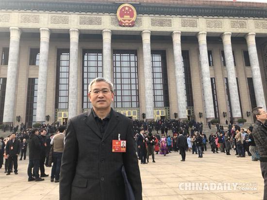 全国政协委员贺云翱。