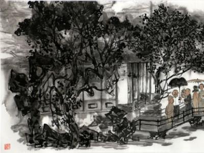 周矩敏画作入选沐盛世春风 赏时代丹青——戊戌成功美术馆馆藏作品春季线上联展