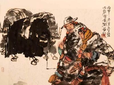 书画名家精品力作赏析——成功美术馆参加2018杭州书画展李伟先生作品线上预展