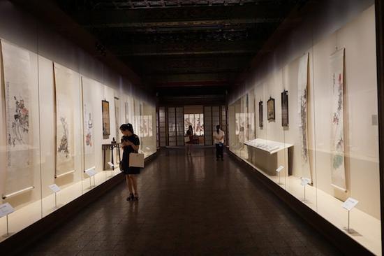 吴昌硕书画篆刻特展的开幕,标志着故宫文华殿书画馆的正式启用。