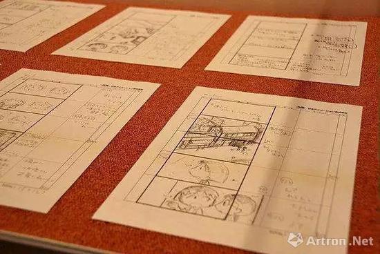 《海贼王》手稿