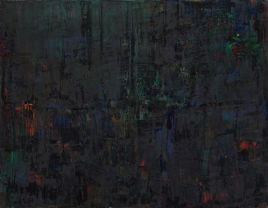 王刚,痛觉,140×180cm,布面油彩,2015
