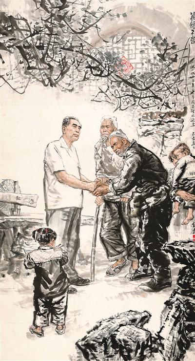 《晓色初动》的画面可能是一所陕北高原小学,但这不重要,重点在于这是