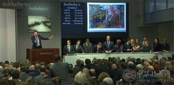 亚洲买家2.22亿元拍下里希特《抽象画》