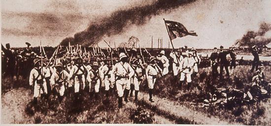 1860年10月6日英法联军攻陷北京以后进入圆明园,第二天,疯狂的抢劫开始了。