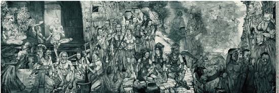 爱国主义是文艺作品之骨——浙江美术馆藏爱国主义题材作品展开幕