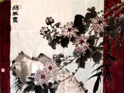 """山水有韵 花鸟传情——程安中先生画作参展""""成功美术馆•2019名家书画全国巡展""""新疆展览"""