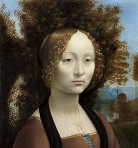 吉内芙拉·德·本奇肖像