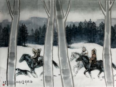 画笔为生活而歌——浅析姜荣慧先生数幅人物画作