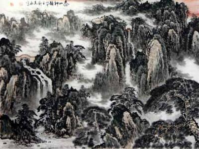 以诗意抒写壮美河山——刘万秋山水画浅析