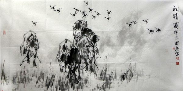诗韵气质 风雅意象——浅谈杨国光先生绘画艺术的审美意趣