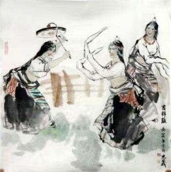 """融情笔墨 摹写生活——周志义先生画作将在""""成功美术馆名家书画全国巡展""""西宁站展出"""