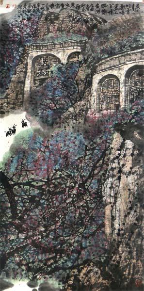 """斑斓墨色写自然真趣——杨必位先生画作将在""""成功美术馆名家书画全国巡展""""西宁站展出"""