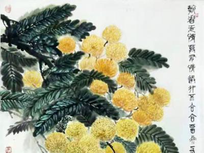 清新静雅 生趣盎然——浅谈朱秀坤先生花鸟画作的艺术蕴藏
