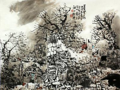 写实 成就宏大叙事 ——浅议李桂泱的山水画