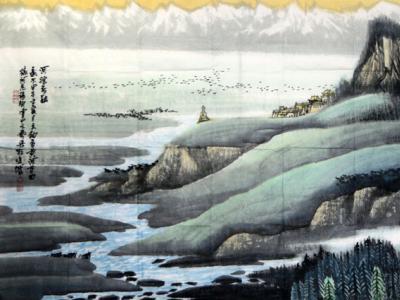西部山水 风格独具  ——陈天铀先生西部山水画浅谈