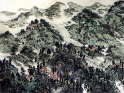 师陇山之造化 穷奥妙于古今——再谈段新明先生山水绘画的艺术审美