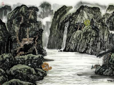 笔墨秀润  韵味盎然——李泽霖山水画作品赏析