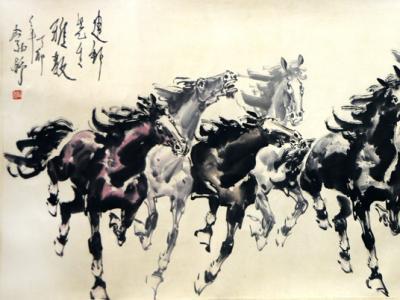 逸笔写骅骝 风姿越古今——馆藏著名画家刘勃舒先生作品在《西部成功书画家》刊发