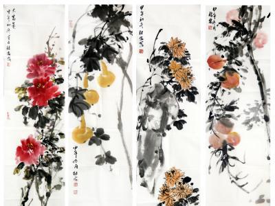 贴近生活 意趣丰赡——馆藏画家裴林安花鸟画在《西部成功书画家》刊发