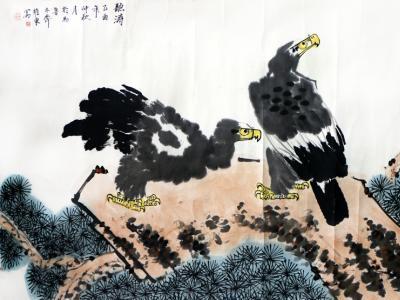 写自然真趣 扬时代精神——馆藏著名画家邓维东花鸟画在《西部成功书画家》刊发