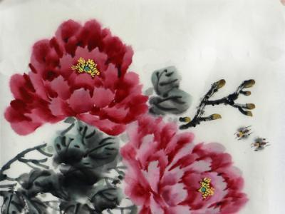 """色墨饱满赋自然生机——王正春花鸟画作参展""""翰墨丹青耀金秋•全国名家书画展"""""""
