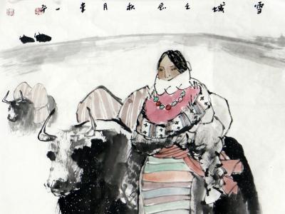 墨涉雅趣 笔写新风——成功美术馆馆藏李一平人物画赏析