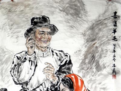 饱含时代精神  彰显经典魅力——观赏成功美术馆馆藏周志义人物画带来的思考
