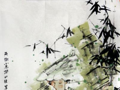 神韵富诗意 笔健且悠长——赏读中国女画家协会主席孔紫女士画作(《西部成功书画家》刊载)有感
