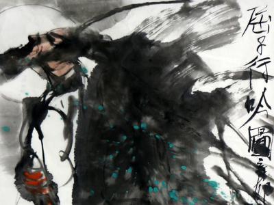 笔意酣畅 墨骨传神——成功美术馆馆藏杨振廷先生人物画赏析