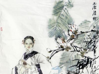 墨彩清逸 形神俱妙——成功美术馆馆藏孟旭耀人物画作品赏析