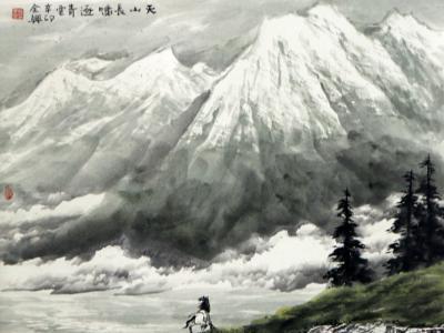 笔底崇山巨壑 纸上气象万千——浅谈当代山水画家时全兴先生作品(《西部成功书画家》刊载)的艺术内蕴